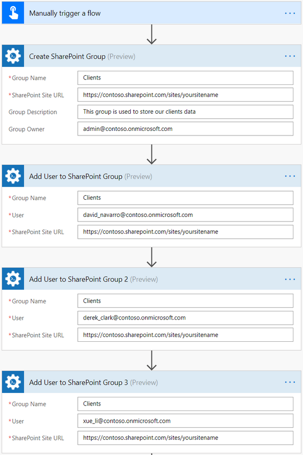How to create SharePoint group and add users in Microsoft