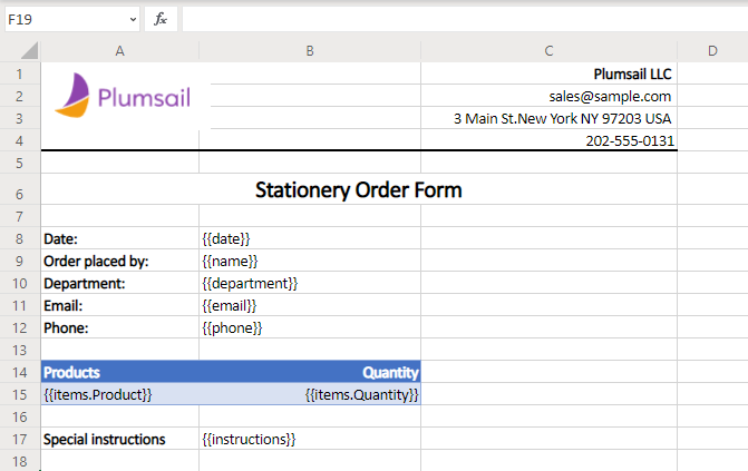How to create Excel and PDF documents from Cognito Forms in