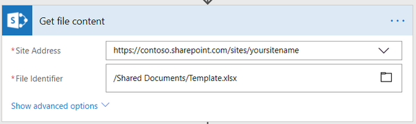 How to create Excel XLSX document from template in Microsoft
