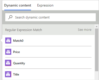How to use regular expression match to extract values from text in