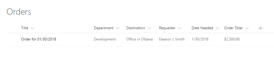 Creating a web form with Data Table and saving data into SharePoint