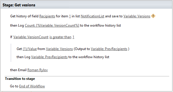 List items processing — Workflow Actions Pack 1 0 documentation